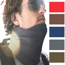 Exquisite Winter Fleece Scarf Neck Warmer Face Mask Hat(China)