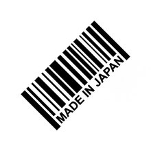 15.5CM*7.5CM Made In Japan Decal JDM Stickers Vinyl Turbo Racing Window illest Boost Car Dope Car Stickers Black Sliver C8-0498