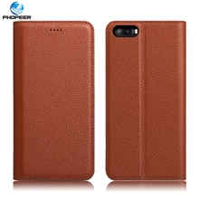 Buy Original PHOPEER Luxury Genuine Leather Case DOOGEE Shoot 2 Book Style Filp Cover Case Doogee Shoot 2 5.0 inch for $15.19 in AliExpress store
