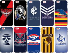 AFL Football Team Phone Cover For iphone 5 5S SE 5C 6 6S 7 Plus For Samsung Galaxy S3 S4 S5 Mini S6 S7 Edge S8 Note 3 4 5 Case(China)