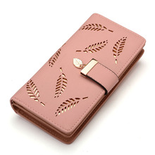 Women Wallet Leather Card Coin Holder Money Clip Long Phone Clutch Bag High Quality Photo Cash Pocket Female Purse Fashion(China)