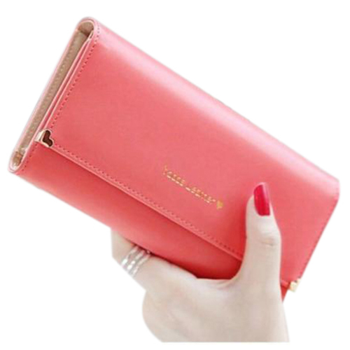 ASDS Fashion New Womens Soft PU Leather Clutch Wallet Long Card Mini Purse<br><br>Aliexpress
