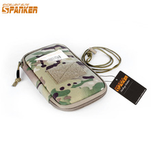EXCELLENT ELITE SPANKER Women EDC Zipper Hunting Pouch Military Nylon Wallet Pouch Tactical Sport Travel Hunting Bags(China)