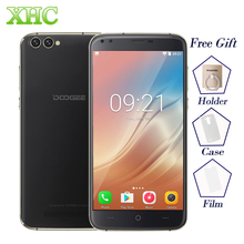 DOOGEE X30 Android 7.0 Smartphone 5.5'' 4 Cameras MTK6580A Quad Core Cellphone 2GB RAM 16GB ROM Dual SIM WCDMA OTA Mobile Phone(China)