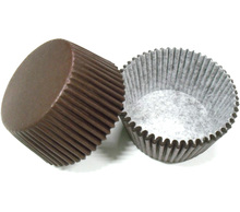 Free Shipping 100pcs coffee brown plain color solid pure color Cupcake Liner muffin baking Cup cake mold