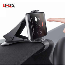 JERX Car Holder Mini Air Vent Mount Cell Phone Mobile Holder Universal For iPhone 5 6 6s 7 GPS Bracket Stand Support Accessories