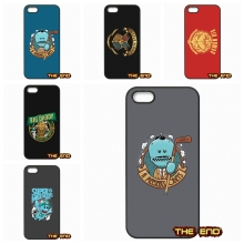 For Apple iPhone 4 4S 5 5C SE 6 6S 7 Plus 4.7 5.5 iPod Touch 4 5 6 A Meeseeks Obeys Rick & Morty Cell Phone Cases Covers