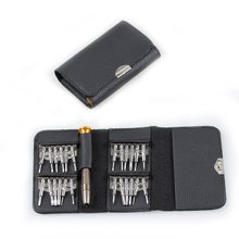 25-in-1 Screwdriver Wallet Set Multi Tools Repair Torx Screw Driver Screwdrivers Kit for Xiaomi Samsung iphone 4 4s 5 6(China)