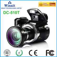 Freeshipping Wide Angle Lens DSLR Camera DC-510T 16MP Professional Digital Camera VGA 640*480 30fps Pro Digital Video Recorder