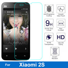 0.26mm LCD Explosion-proof Front Tempered Glass Film For Xiaomi mi2s Mi 2 2S Mi-2 Mi-2S Clear Screen Protector pelicula de vidro