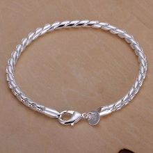 925 jewelry silver plated  jewelry bracelet fine fashion bracelet top quality wholesale and retail SMTH210