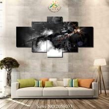 3-4-5 Pieces Train Pictures Canvas HD Printed Painting Wall Art Pictures Frame For Living Room Home Decor(China)
