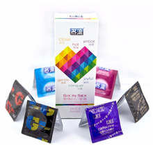 Six In Sex 24PCS Amazing Condoms Value High Quality Condoms for Men thin Horny Women Adult Sex Toy safer CONTRACEPTION(China)