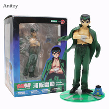 YuYu Hakusho Yusuke Urameshi Action Figure 1/8 scale painted PVC Figure Collectible Toy 17cm KT4085(China)