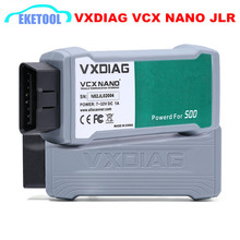 Professional For JLR Diesel&Gasoline Cars VXDIAG VCX NANO For LAND Rover For Jaguar 2IN1 SSD V145 Multi-Language Update by CD