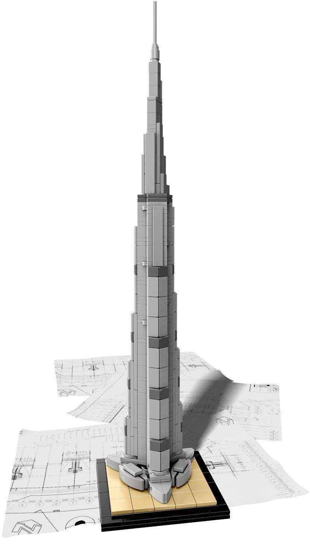 Replica Set Architecture Burj Khalifa 21031 Building Block MOC Construction Brick Toy Educational No original box<br><br>Aliexpress