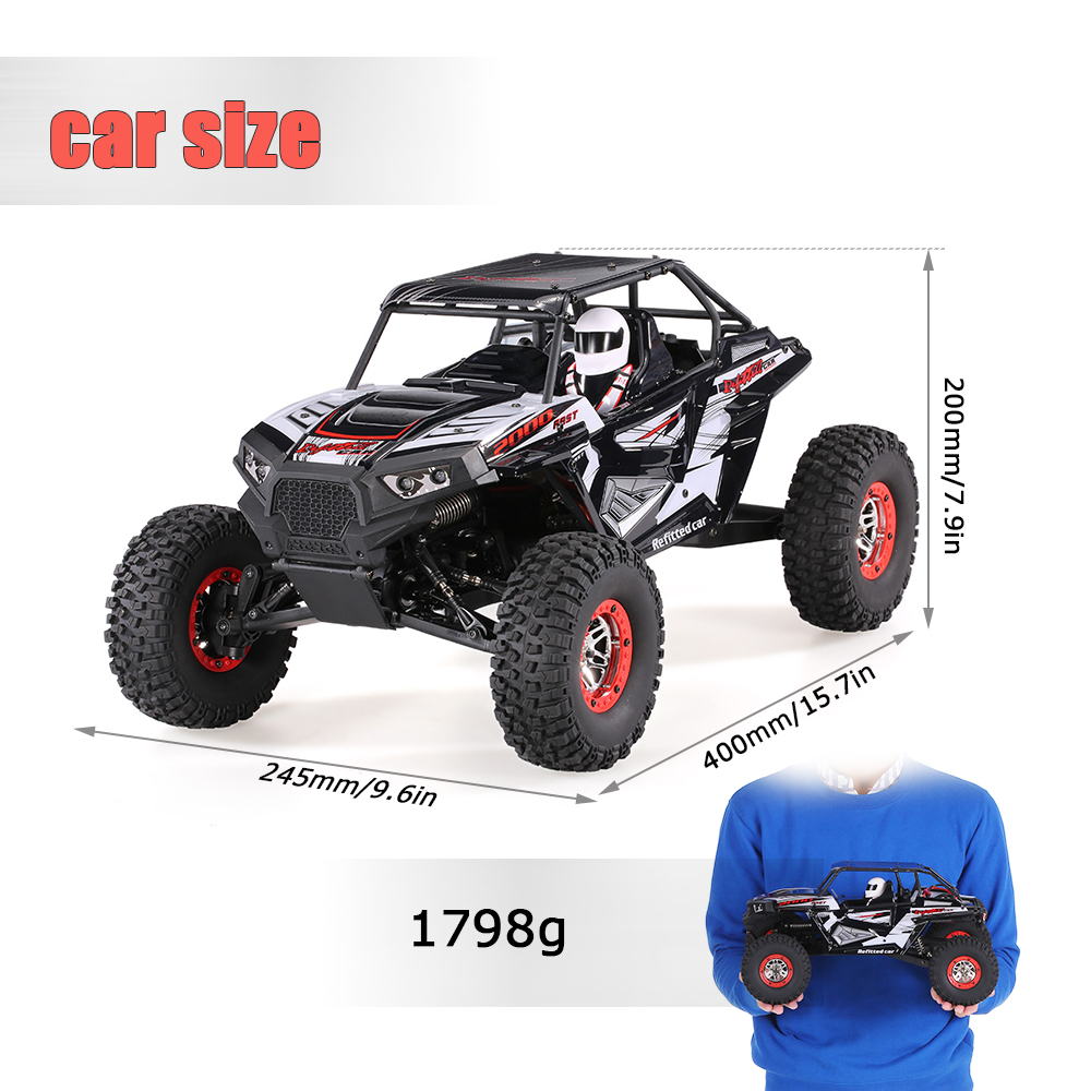 Remote Control Off-road Car Vehicles SUV 10428-B2 110 2.4G 4WD Electric Rock Crawler Buggy Desert Baja RC Cars RTR Boys Toys (5)