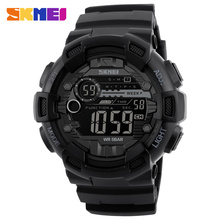 SKMEI Brand Men's Fashion Sport Watches Chrono Countdown Men Waterproof Digital Watch Man Military Clock Relogio Masculino New(China)