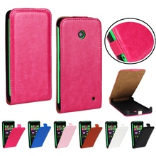 For Nokia 630 Case Retro Stylish Style Crazy Horse Leather Flip Case For Nokia Lumia 630 635 636 638 N630 Mobile Phone Cover