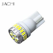 JIACHI 10 x Original!! High Power Led Car Light DC12V 24smd 3014 T10 5W5 Motorcycle/Car Led Automotive Bulb From China(China)
