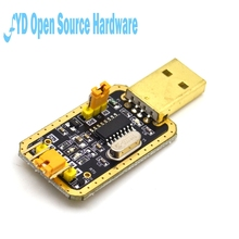 CH340G RS232 Update USB To TTL Converter Module UART Serial Port UFS-HWK STC Dowanloader Programmer Brush Small Plates(China)