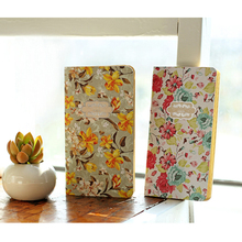 portable mini flower sketchbook kraft paper daily memos diary notebook weekly planner  agenda sketchbooks for school office tool