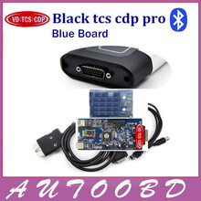 Quality A+ Black VD TCS CDP Pro Plus 2015.R1/ 2014.R2 Software Two PCB Board V8.0 Serial .No100251 Free Activate for Cars Trucks(China)