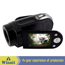 "Freeshipping cheap digital video camera HD-E5 12mp 720p hd 8X digital zoom 2.4"" LCD display video camcorder"
