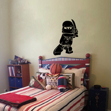 NEW Ninjago Lego Vinyl Decal Sticker Kids Boy Room Decor Children's Play Room Wall Decor Lego Wall Stickers Free Shipping
