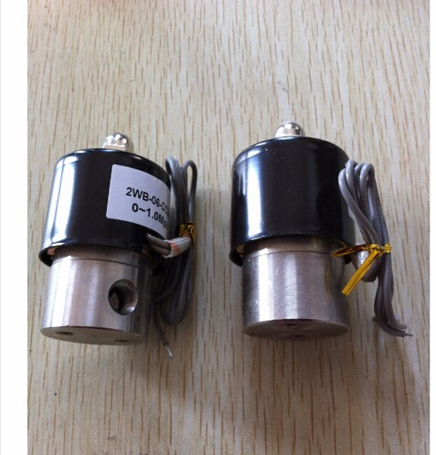 3/8 Stainless Steel Electric solenoid valve Normally Closed IP65 Square coil water solenoid valve<br>
