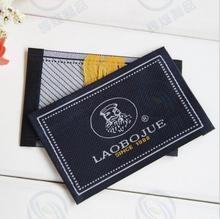 Customized garment shirt jacket shoe labels/woven labels/printed clothing label/embroidered tag New winter clothes(China)