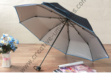 103cm two men's Ox brass carbon fiberglass super windproof velvet parasol(3pcs get 1pc free)Anti-UV business mini golf umbrella