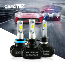 12V H4 H7 Led 9005 HB3 9006 HB4 H11 H1 Car Led Headlight Bulb N1 50W 8000LM 6000K Automobile All In One CSP LED Headlamp Lamp