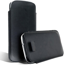 Bulk novelty Leather PU Pouch Case Bag for HTC Wildfire s A510e A510C Cover