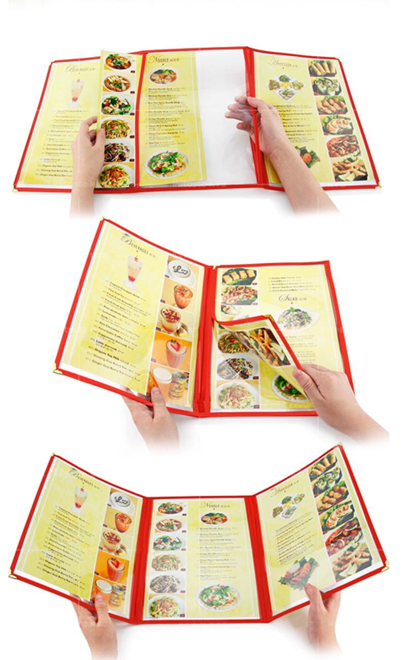 Triple Fold book Holder 9