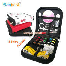 Mini Sewing Kit for Home Travel Camping Emergencies Filled with Qualified Sewing Notions Gift for Kids Girls Beginners Adults
