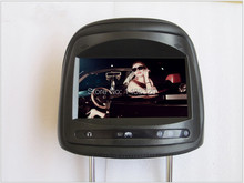 "Black 7"" Car Monitor with Digital Screen for Peugeot"