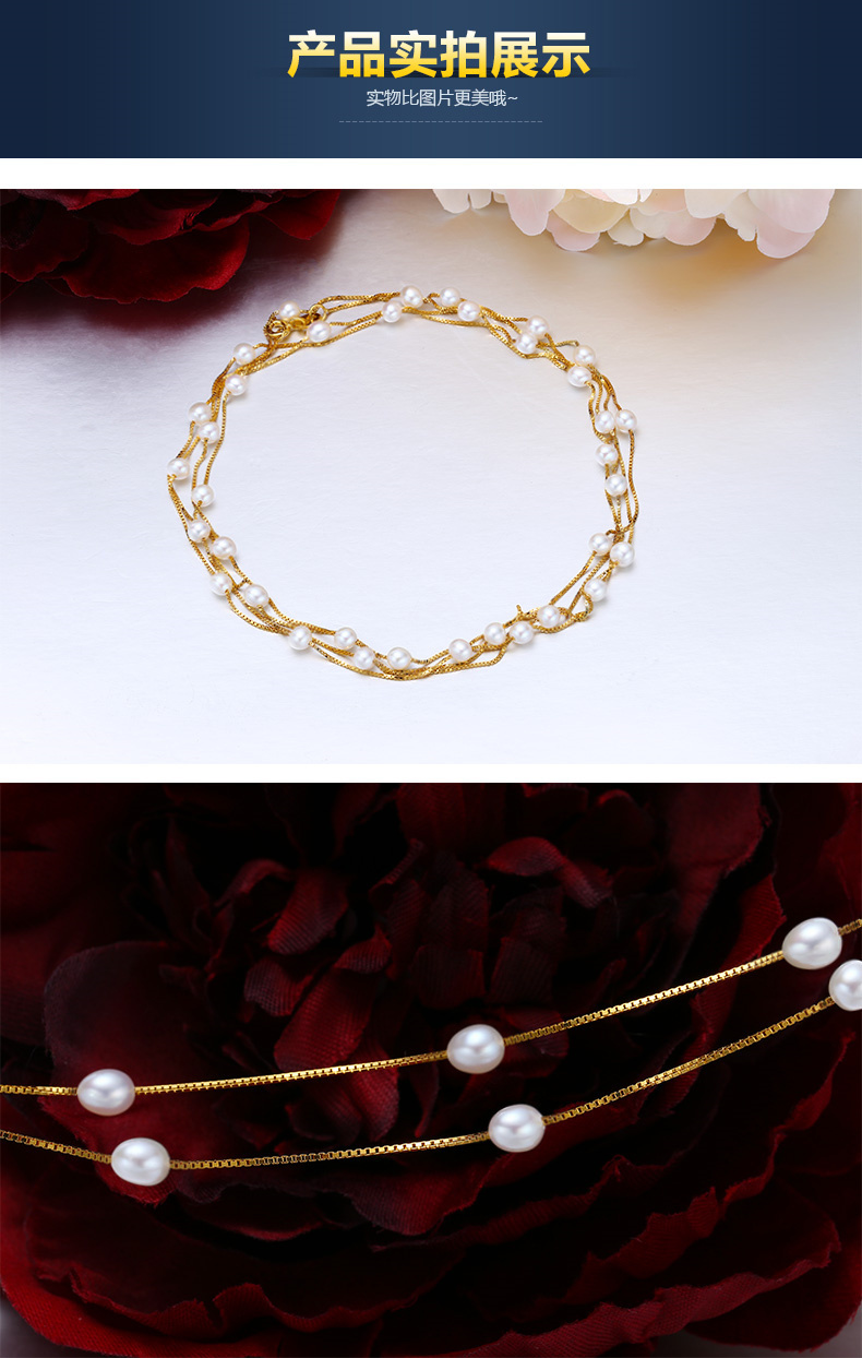 HTB1Tt qb4sIL1JjSZFqq6AeCpXag - Real 925 Sterling silver necklace Perfect natural pearl choker necklace 120cm long necklace for women Fashion jewelry