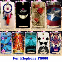 DIY Flexible Soft TPU Silicon Phone Cases For Elephone P8000 Housing Bags Skin Shell Covers For Elephone P8000 Protector Shield