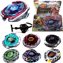 1Set HOT Sales Fusion Top Rapidity Fight Metal Master Beyblade 4D Launcher Grip Set Collection Spinning Top Random