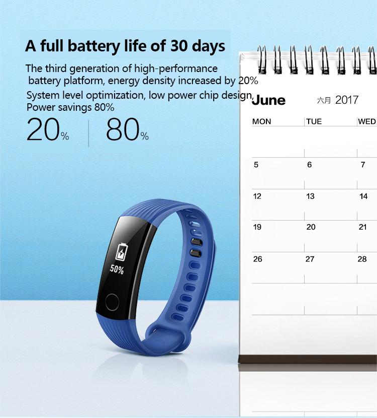 New original huawei glory Bracelet 3 Smart Bluetooth motion,heart rate,sleep monitoring,waterproof Wrist Watch For xiaomi 2 11