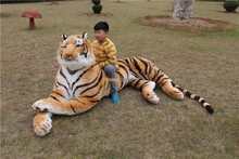Fancytrader Just As Real Tiger! High Quality Toy 87'' 220cm Rare in World! Huge Giant Plush Stuffed Emulational Tiger FT90282