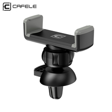 Cafele Universal Car Mount Phone Holder Clip Type Plastic Air Vent Car Mobile Phone Stand for 3.5-6 inches Smart Phone