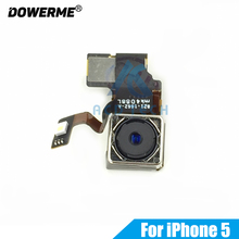 Dower Me New Back Rear Main Camera Module Flex Cable For iPhone 5 5G Big Camera 8MP(China)