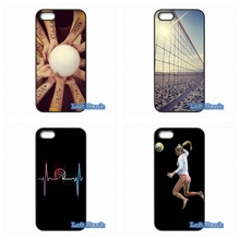 Volleyball Phone Cases Cover For Apple iPhone 4 4S 5 5S 5C SE 6 6S 7 Plus 4.7 5.5 iPod Touch 4 5 6