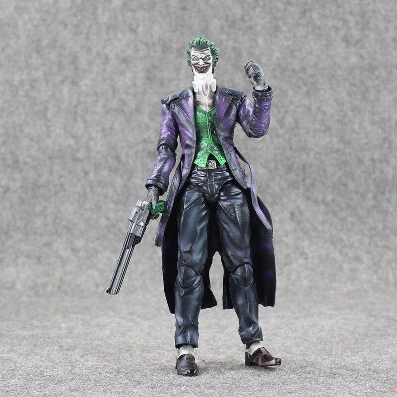 Play Arts KAI Batman Arkham Origins NO.4 The Joker PVC Action Figure Collectible Toy 26cm<br>