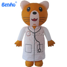 AC043  Free shipping Inflatable animals doctor moving cartoon,Inflatable moving cartoon, advertising inflatable walking costume