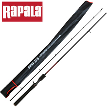 100% Original Rapala Brand Lure Land 1.98M 2.1M Casting Fishing Rod M/ML Power 2 Sections Carbon Lure Fishing Rod