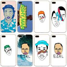 H171 Ofwgkta Odd Future Of Earl Transparent Hard Thin Case Cover For Apple iPhone 4 4S 5 5S SE 5C 6 6S 7 8 X Plus