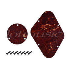 Electric Guitar Cavity Cover Back Plate Backplate for Gibson Les Paul Parts Tortoise Shell ABS